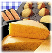 Cornbread is a staple in the heartland of the U.S.